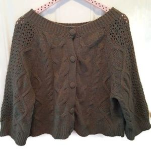 Anthropology Far Away From Close Cardigan Small